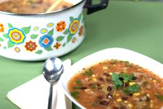 Mexican fiesta soup - Recipe by Briana Santoro