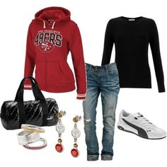 maybe not a 49ers jacket but its cute =)