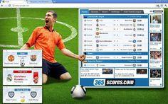 365Scores, resultados de fútbol en vivo desde Chrome on http://www.dotpod.com.ar