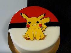 My Pokemon Pikachu cake diy - I baked two round cakes to make the . Pokemon Birthday Cake, Pokemon Party, Rainbow Birthday, Pokemon Cakes, Pokemon Craft, Mini Tortillas, Pikachu Cake, Boy Birthday Parties, 8th Birthday