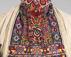 deails: Date: 1900–1940 Culture: Croatian Medium: cotton, silk