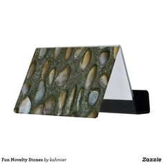 Get business card holders at Zazzle. Business Card Holders, Business Cards, Unusual Things, Stones, Desk, Make It Yourself, Fun, Writing Table, Rocks