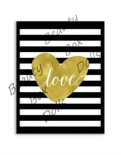 Instant Download, Digital Download, Printable Download, LOVE...Gold, Striped by BeautyBoxDolls on Etsy https://www.etsy.com/uk/listing/466779069/instant-download-digital-download