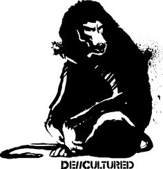 De\\Cultured - Baboon - Urban Design of a Baboon using Stencil Graffiti Style Artwork  US Store for Baboon Design : http://decultured.spreadshirt.com/de-cultured-baboon-I1000228497  Facebook Page : https://www.facebook.com/Decultured  Twitter Page : https://twitter.com/DeCultured_Co