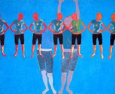 Iwona Zawadzka, Pięć i pół, 2007 #art #contemporary #artvee
