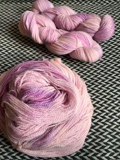 Hand-dyed yarn, Indie dyed yarn, hand dyed yarn IF WISHES were KISSES--ready to ship-- Astoria merino/ alpaca nylon fingering yarn