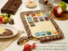 ipad de chocolate :3