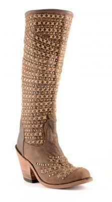 Womens Liberty Black Vintage Boots Cafe #Lb-71244a