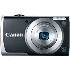 Canon PowerShot A2500 16MP Digital Camera with 5x Optical Image Stabilized Zoom with 2.7-Inch LCD (Black) Canon,http://www.amazon.com/dp/B00B5HE1SY/ref=cm_sw_r_pi_dp_dsrQsb00GM4GMEY1