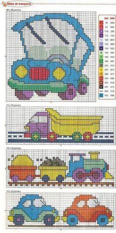 Vehicle Bus Truck Train Car