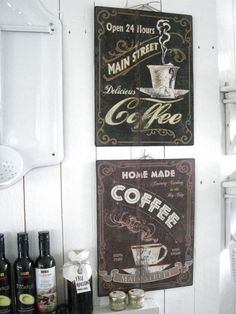 coffee sign