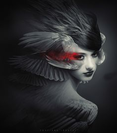 WINGED ANGEL 3 by soufiane idrassi, via Behance