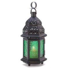 "$29.99 for 8 Emerald Green Moroccan Style Lantern 10 1 4 "" Tall Wedding Decor New | eBay"