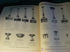 ANTIGUO CATALOGO ELECTRICIDAD LAMPARAS ACCESORIOS - ALEMANIA - 1924 - ILUSTRADO. estalcon@gmail.com