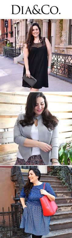 Plus-Size Style, Delivered. Dia&Co curates plus-size clothing and sends you a personalized fashion box! Let's build your wardrobe together.