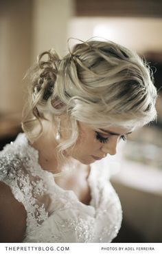 Soft updo with curls | Photographer: Adel Ferreira Photography, Hair & Make-up: Marchet Terblanche
