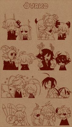Mogeko parents and their kids
