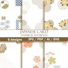 Japanese Icon, Japanese Patterns, Gold Pattern, Pattern Design, Postcard Template, Pattern Illustration, Abstract Backgrounds, Flower Patterns, Scrapbook Paper
