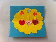 Kid Friendly Crafts - DIY Pop Up Mother's Day Card - Createsie