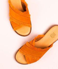 KAUF DICH GLÜCKLICH Calea Slipper mandar Sneaker, Slippers, Slip On, Sandals, Shopping, Shoes, Women, Fashion, Shoes Women