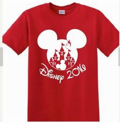 Disney, Mickey Mouse, Magic Kingdom, Customized Printed T-shirt Family Reunion Kids Birthday Personalized Family Trip Disney World