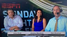 Who was that woman on ESPN's Sunday Night Baseball? Jessica Mendoza