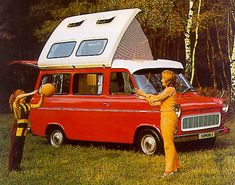 obsessed! Ford Transit Dormobile Conversion