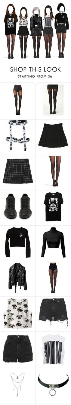 """""""DELiGHT's Goodbye Stage for AURORA"""" by delight-official ❤ liked on Polyvore featuring Pretty Polly, Boohoo, Wolford, adidas, Chicnova Fashion, Topshop and Alexander Wang"""