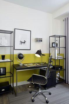 Den Model Homes, Den, Corner Desk, House Design, Interior Design, Furniture, Home Decor, Design Interiors, Homemade Home Decor
