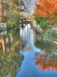 """la """"Charente"""" (Charente) rivière en France"""