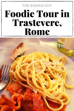 Join me on the ultimate foodie tour in Trastevere, Rome. The Roman Guy offers delicious local eats, a rich history lesson and a fun way to meet new friends.