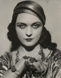 Pola Negri  (1897-1987). Polish stage and film actress