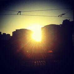 Sunrise in Sydney. Amanecer en Sydney. #lavueltaalmundosinprisas #aroundtheworldunhurried #lavueltaalmundo #aroundtheworld #viaje #travel #trip #journey #viajero #traveler #Sydney #city #ciudad #newsouthwales #nuevagalesdelsur #state #estado #Australia #sunrise #amanecer