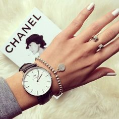 daniel wellington watch + Tiffany Bracelet... Shop #danielwellington watches at ellageorgia.com Official stockist 10% OFF and Free Delivery http://bit.ly/1LLvMpC