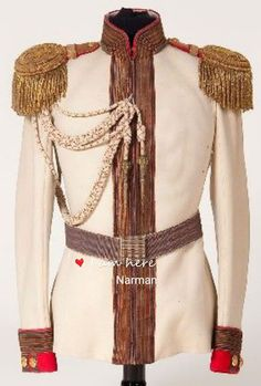 """bulletproofjewels: """" ptk: """" An Imperial Russian horse guard regiment officer's tunic, circa White boiled wool tunic with red cuffs and silver bullion braid piping. Complete with gold bullion. Military Costumes, Military Dresses, Military Uniforms, Tsar Nicolas Ii, Tsar Nicholas, Military Fashion, Mens Fashion, Imperial Russia, Russian Fashion"""
