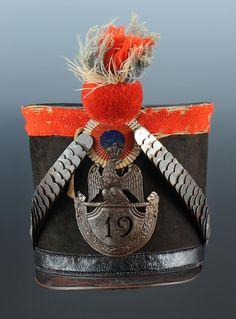 Shako della 19 legione della guardia nazionale