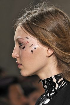 Daring to Dream Again: What Face Tattoos and Septum Rings on the Runway Mean for You - Gallery - Style.com