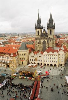 Easter Markets, Old Town Square, c/o Czech Tourism. Read story at: http://www.whattravelwriterssay.com/destinationEurope.html