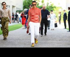 Tommy Ton Shoots All the Action at the Spring 2014 Menswear and Fall 2013 Couture Shows