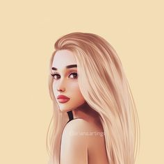 image discovered by. Discover (and save!) Your own pictures and videos on We Heart It Ariana Grande Anime, Ariana Grande Drawings, Ariana Grande Fotos, Ariana Grande Wallpaper, Girl Cartoon, Cartoon Art, Baby Girl Wallpaper, Girly Drawings, Celebrity Drawings