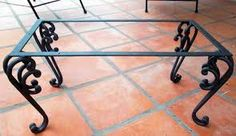 diy home decor Dinning Tables And Chairs, Wooden Tables, Iron Coffee Table, Iron Table, Iron Furniture, Furniture Legs, Metal Bending, Iron Work, Iron Gates