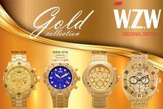 O Dourada é sofisticado, remete ao ouro e, por isso, da um ar de riqueza ao visual. A WZW Relógios em todas as suas coleções possui peças em dourado pois sabemos que é uma paixão de muitos e, cá entre nós, é uma cor que realça o estilo e a elegância.  Conheça nossos relógios com design exclusivo alemão de alto padrão de qualidade nas suas diversas variações. Com certeza você encontrará um que combine com o seu estilo.
