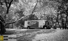 CocaCola Truck Central Park  Contax T3, ilford HP5