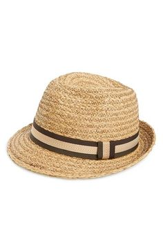 Sole Society Straw Fedora available at #Nordstrom