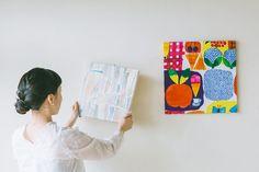 コンビニ用マイバッグ(エコバッグ)の作り方(標準型・弁当型)   nunocoto fabric Handicraft, Interior, Fabric, Crafts, Activities For Kids, Craft, Tejido, Tela, Manualidades