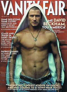David Beckham. The picture that stopped me dead in the airport concourse. What the hell is that and where can I get one?!?!