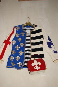 800162451f5b52 Moschino Couture Vintage, Libertas jacket, Philadelphia museum, 90s icon,  for sale Retro