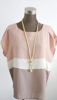 cute top and necklace
