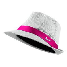 Nike Ladies Woven Golf Fedora Hats