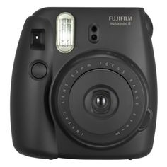 Fujifilm instax mini 8 Instant Film Camera Black ($60) ❤ liked on Polyvore featuring accessories